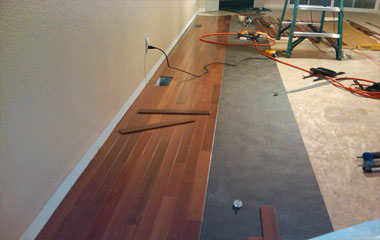 wood floor sales and installations